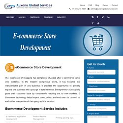 eCommerce Store Development in India, US, UK, Canada, Australia @ AGS
