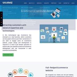 Ecommerce website development Bangalore