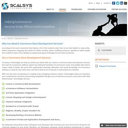 Ecommerce Store Development & Website Design Solutions