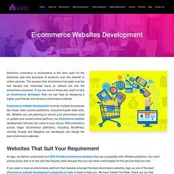 What Are The Benefits Of Ecommerce Website Development Company Delhi?