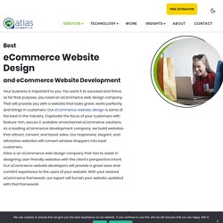eCommerce Web Development Solutions, eCommerce Website Design