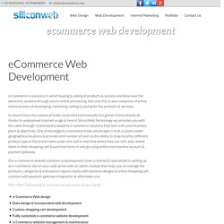 eCommerce Web Design, Ecommerce Web Development Company India