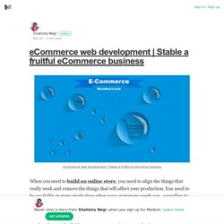 Stable a fruitful eCommerce business