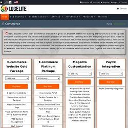 Best eCommerce Website Design & Development Service Company - Logelite