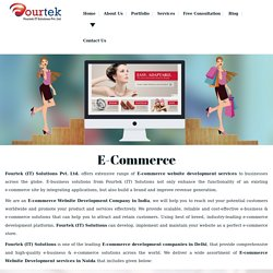 Ecommerce Website Development Company In India – Fourtek