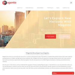 Magento Ecommerce Web Development, Magento Store Development Services, Los Angeles