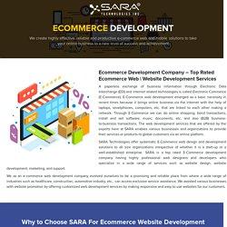 Ecommerce Development Company - Ecommerce Web