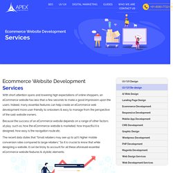 Ecommerce Web Development Services in India