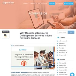 Magento eCommerce Development Services is Ideal for Online Success