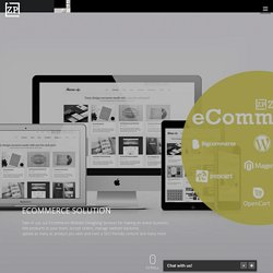 Ecommerce Website Development, Business Web Solutions