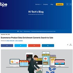 Ecommerce Product Data Enrichment Converts Search to Sale