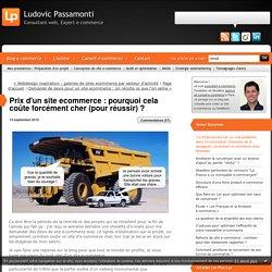 Pourquoi un site e-commerce coûte forcément cher (pour réussir) ? : Ludovic Passamonti - CONSULTANT WEB ET E-COMMERCE