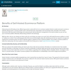 Benefits of Self-Hosted Ecommerce Platform: informationvine