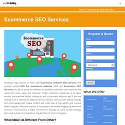 How to eCommerce Website SEO Services Can Be Profitable?