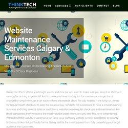 Monthly Ecommerce Website Maintenance Services Company Calgary & Edmonton