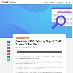 Ecommerce SEO: Bring More Traffic to Your Online Store