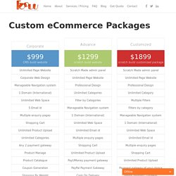 eCommerce Web Design & Development