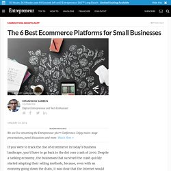 The 6 Best Ecommerce Platforms for Small Businesses