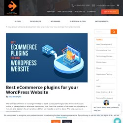 Best eCommerce plugins for your WordPress Website