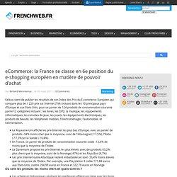 eCommerce: la France se classe en 6e position du e-shopping européen en matière de pouvoir d'achat