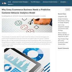 Why Every Ecommerce Business Needs a Predictive Customer Behavior Analytics Model - eZdia