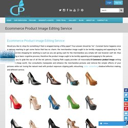 Ecommerce Product Image Editing Service