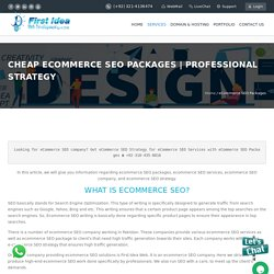 Cheap eCommerce SEO Packages