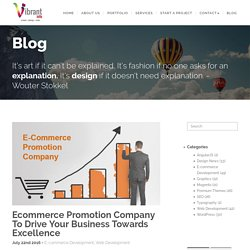 Ecommerce Promotion Company To Drive Your Business Towards Excellence
