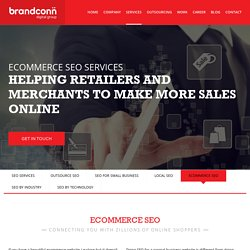 Grow With Ecommerce Website SEO Services