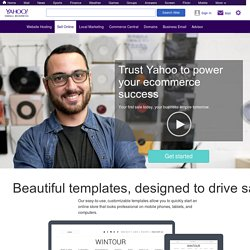 Merchant Solutions: Create a store and start selling online
