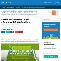 6 of the Best Free Open Source eCommerce Software Solutions