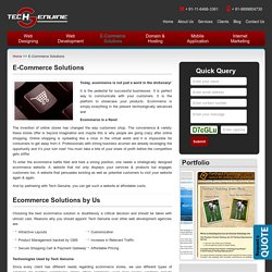 Tech Genuine - Attractive Plans on Ecommerce Web Development Service