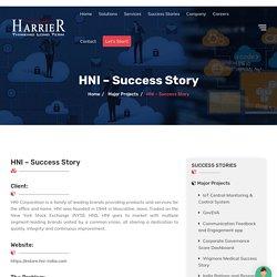 HNI-India Ecommerce Success Story - Harrier