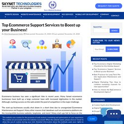 Improve your online store reputation & visibility - Ecommerce Maintenance Services - Skynet Technologies