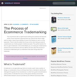 The Process of Ecommerce Trademarking