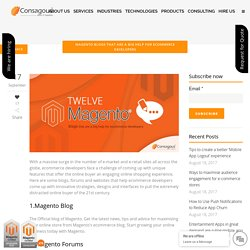 8 Magento Blogs that will Improve your eCommerce Understanding