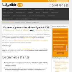 E-commerce : panorama des achats en ligne Noël 2012