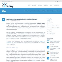 Ecommerce Website Design – Best Ecommerce Design Australia