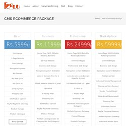 eCommerce Website Design Company India