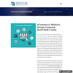 Ecommerce Website Design Company Delhi NCR