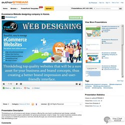 Ecommerce Website Designing Company in Harare.