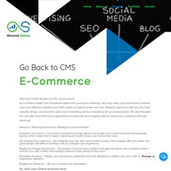 Ecommerce Website Design and Development Company Delhi, India