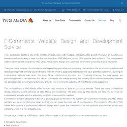 Ecommerce Website Design in UK - YNG Media