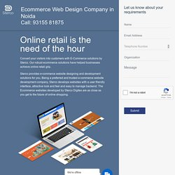 ecommerce website designing company in Noida