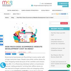 How Much Does Ecommerce Website Development Cost in India?