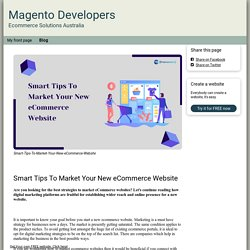 Blog - ecommercesolutionsau.simplesite.com