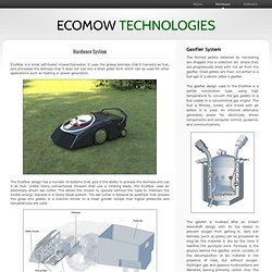 EcoMow. Ecological Mowing.