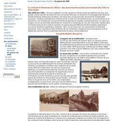 les grèves de 1900 - Ecomusée Creusot Montceau