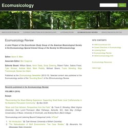 Review – Ecomusicology