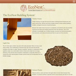 Natural Sustainable Building System